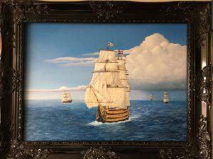HMS Victory On To Trafalgar