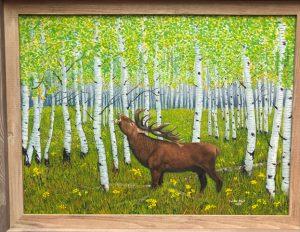"""Bugle Call"" 18"" x 24"" oil on canvas"